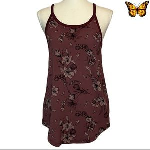 Kismet Floral Print Tank Top Size Extra Small
